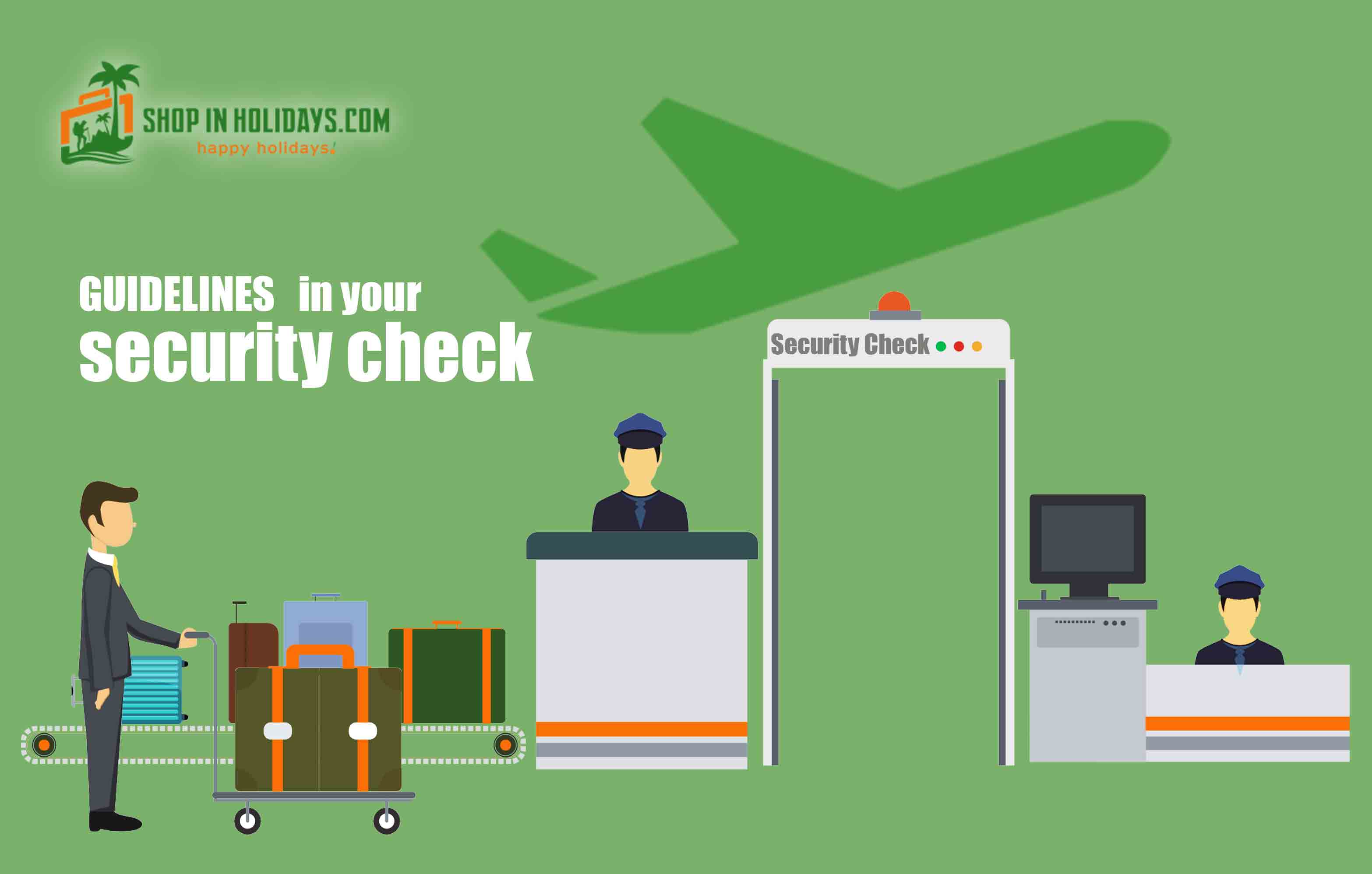 Restricted baggage items on airport | shopin holidays pvt